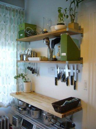 Fantastic kitchen organization ideas for small apartment 06
