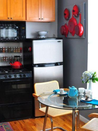Fantastic kitchen organization ideas for small apartment 08