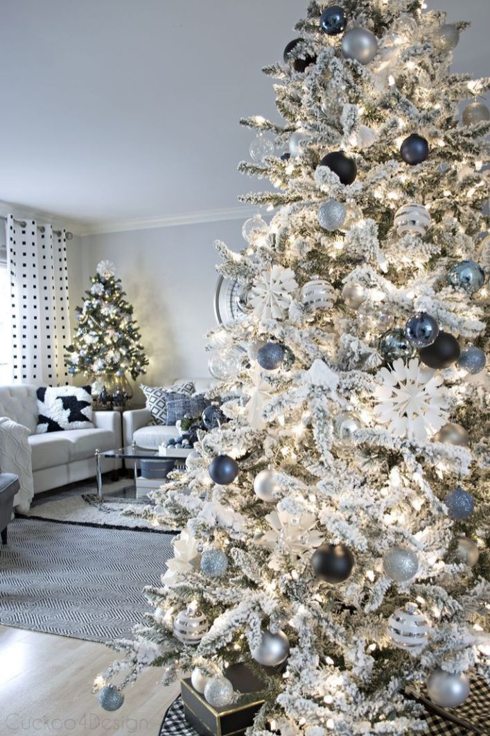 Fascinating christmas tree ideas for living room 04