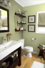 Lovely diy bathroom organisation shelves ideas 02