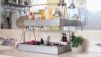 51 Simple Bathroom Storage Ideas Round Decor