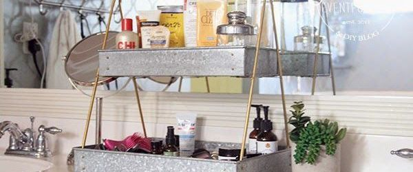 Lovely diy bathroom organisation shelves ideas 39