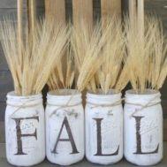 Luxurious crafty diy farmhouse fall decor ideas 41
