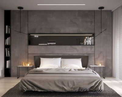 Minimalist master bedrooms decor ideas 23