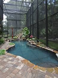 Minimalist small pool design with beautiful garden inside 12