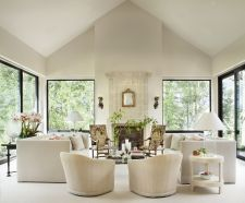 Modern white living room design ideas 04