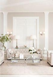 Modern white living room design ideas 14