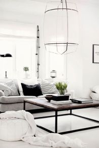 Modern white living room design ideas 22