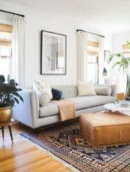 Modern white living room design ideas 25