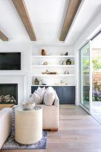 Modern white living room design ideas 41