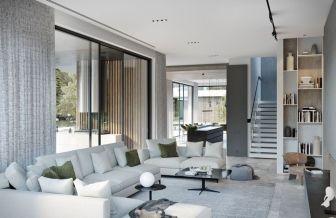 Modern white living room design ideas 42