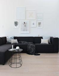 Modern white living room design ideas 44