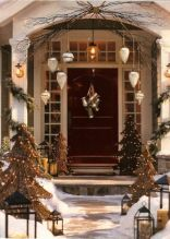 Perfect diy front porch christmas tree ideas on a budget 38