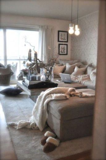Romantic rustic farmhouse living room decor ideas 17