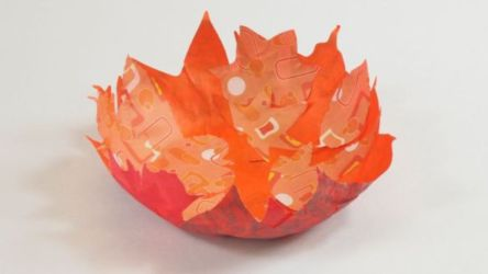 Stunning paper mache ideas for thanksgiving to decorate your home 09