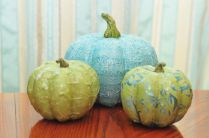 Stunning paper mache ideas for thanksgiving to decorate your home 24