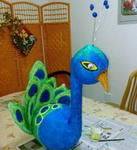Stunning paper mache ideas for thanksgiving to decorate your home 30