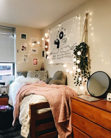 Stylish cool dorm rooms style decor ideas 01