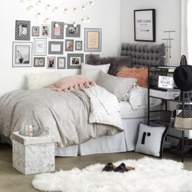 Stylish cool dorm rooms style decor ideas 06