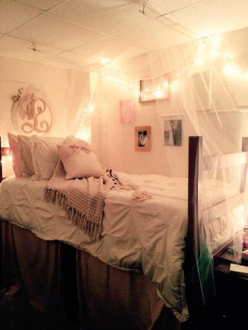 Stylish cool dorm rooms style decor ideas 08