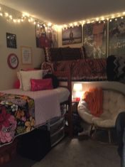 Stylish cool dorm rooms style decor ideas 12
