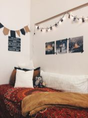 Stylish cool dorm rooms style decor ideas 13
