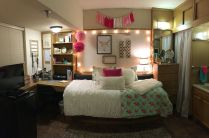 Stylish cool dorm rooms style decor ideas 16