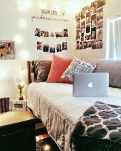 Stylish cool dorm rooms style decor ideas 23