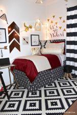 Stylish cool dorm rooms style decor ideas 24