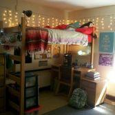 Stylish cool dorm rooms style decor ideas 27