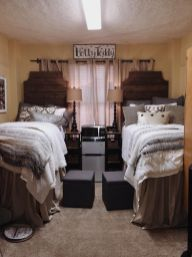 Stylish cool dorm rooms style decor ideas 33