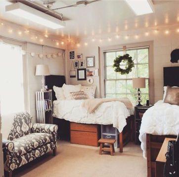 Stylish cool dorm rooms style decor ideas 47