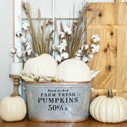 Unique diy farmhouse thanksgiving decorations ideas 04