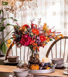 Unique diy farmhouse thanksgiving decorations ideas 09