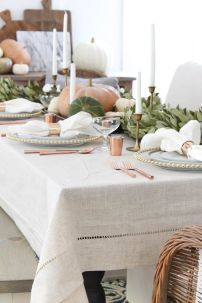 Unique diy farmhouse thanksgiving decorations ideas 15