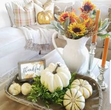 Unique diy farmhouse thanksgiving decorations ideas 31