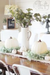 Unique diy farmhouse thanksgiving decorations ideas 47