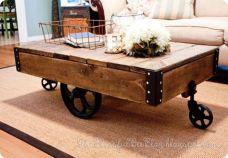 Adorable coffee table designs ideas 17