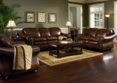 Amazing living room paint ideas by brown furniture 12