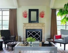 Amazing living room paint ideas by brown furniture 30