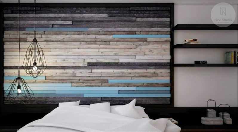 Awesome wooden panel walls bedroom ideas 08