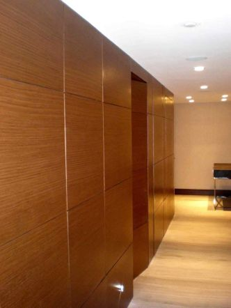 Awesome wooden panel walls bedroom ideas 15