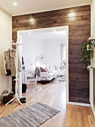 Awesome wooden panel walls bedroom ideas 18