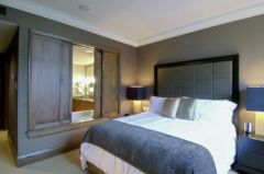 Awesome wooden panel walls bedroom ideas 27