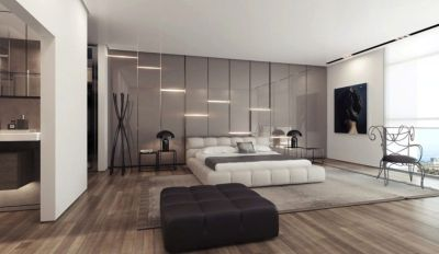 Awesome wooden panel walls bedroom ideas 30