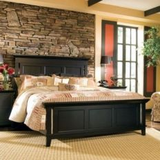 Awesome wooden panel walls bedroom ideas 31