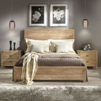 Awesome wooden panel walls bedroom ideas 36