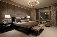 Awesome wooden panel walls bedroom ideas 43