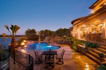 Beautiful mediterranean patio designs ideas 23
