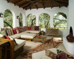 Beautiful mediterranean patio designs ideas 40